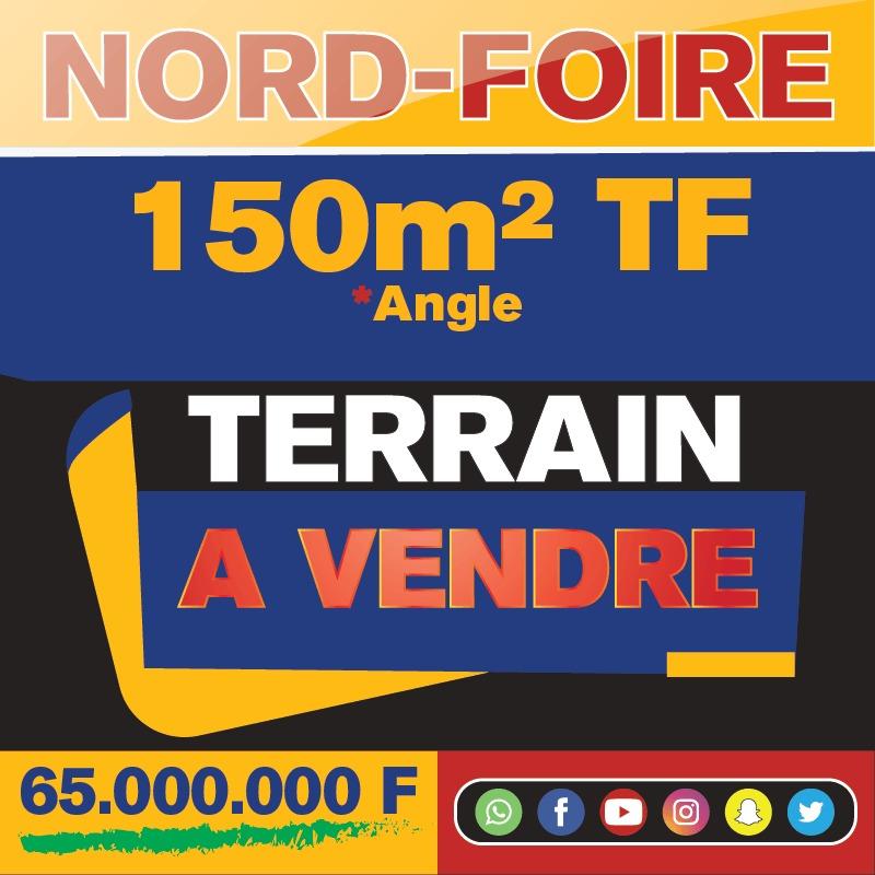 Terrain au Nord-Foire 150 m2